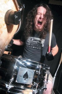 Slayer drummer Paul Bostaph
