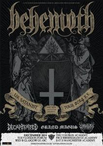Behemoth tour