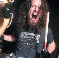 Slayer drummer Paul Bostaph
