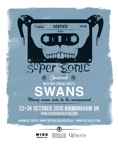 MELT BANANA, BONG AND GNOD JOIN HEADLINERS SWANS FOR 2010's SUPERSONIC FESTIVAL