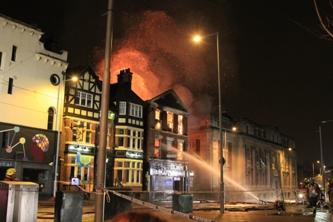 Annihilator escape fire and cancel Birmingham show