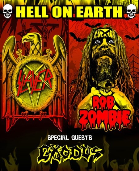Slayer, Rob Zombie co-headlining tour