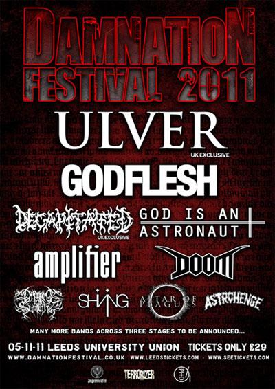 Ex-Medulla Nocte frontman confirms exclusive show for Damnation Fest