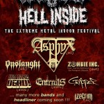 ARCH ENEMY TO HEADLINE HELL INSIDE