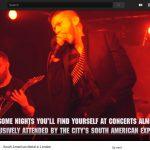 ZT VIDEO DOCUMENTARY: LONDON'S SOUTH AMERICAN SCENE REPORT!